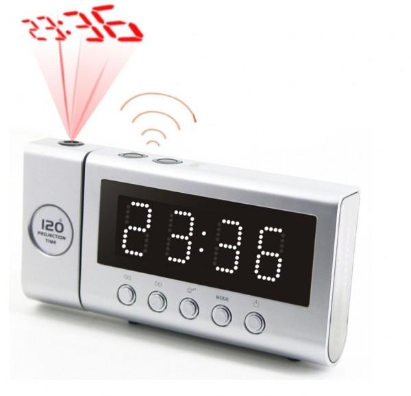UKW-PLL Funkuhrenradio mit Projektion