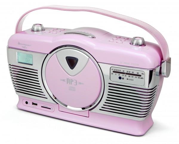 UKW Kofferradio mit Vertikal-CD-Spieler
