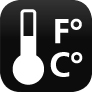 Temperatur-Anzeige für innen
