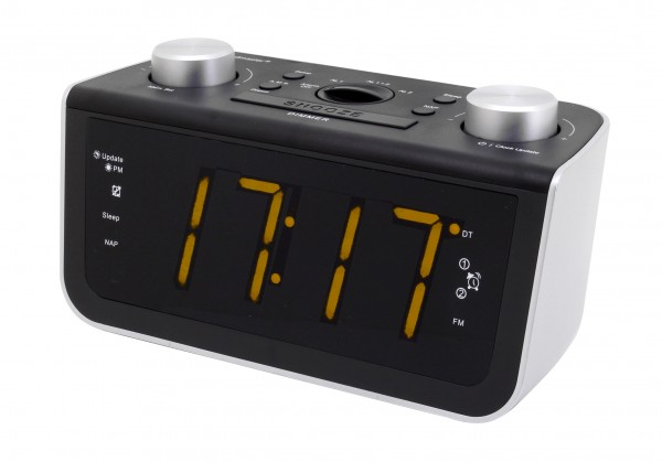UKW-PLL Uhrenradio mit Jumbo Display und automatischer Uhrzeiteinstellung