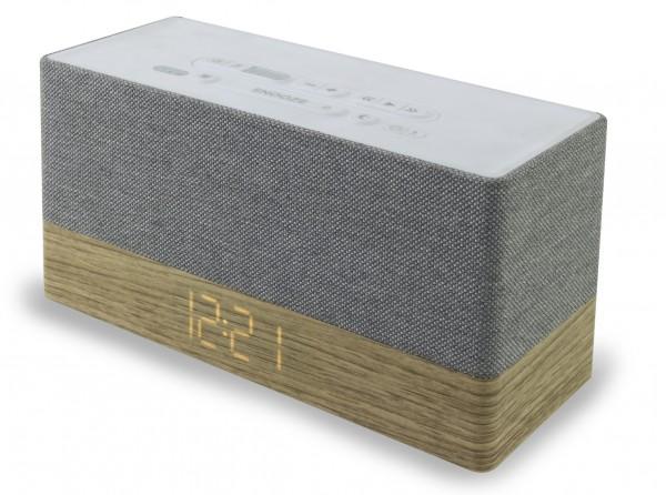 Uhrenradio mit Bluetooth® und USB-Ladebuchse