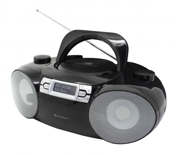DAB+ Boombox mit CD/MP3, USB, SD und Bluetooth®