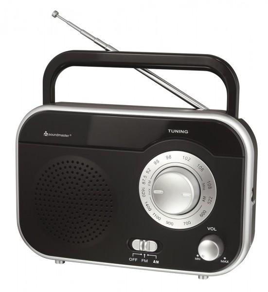 Tragbares UKW Radio mit Tragegriff