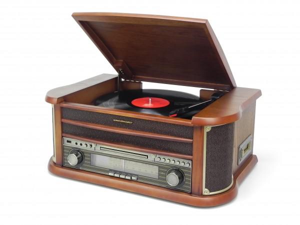 Nostalgie Stereo-Musikcenter mit USB und Encoding Funktion