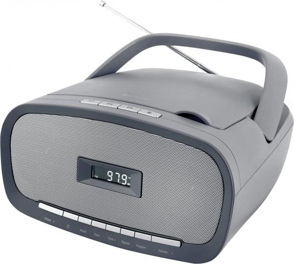 CD/MP3 Boombox mit USB und UKW-PLL Radio