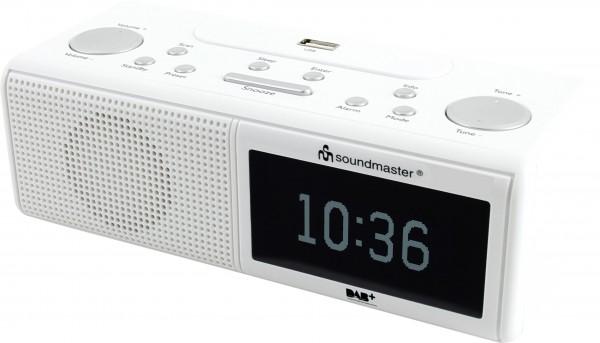 DAB+/UKW-RDS Uhrenradio mit USB Wiedergabe