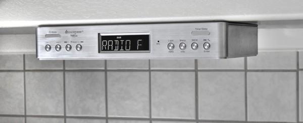DAB+/UKW-RDS Küchenradio mit Bluetooth® und Kochtimer