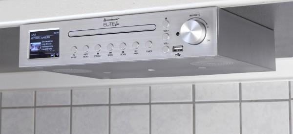 Küchenunterbau Musikcenter mit Internet/DAB+/UKW-Radio, CD/USB und Bluetooth®
