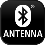 ohne Bluetooth Antenne