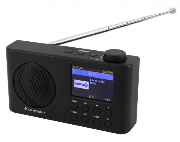 Portables Internetradio mit eingebautem Akku und Farbdisplay