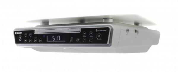 CD Küchen Stereo Musik-Center zum Unterbau mit UKW-PLL Radio, USB-MP3 und Bluetooth®