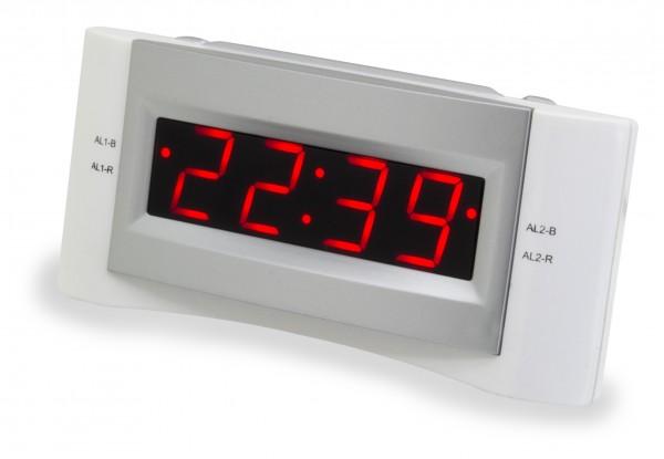 UKW-PLL Uhrenradio mit USB-Ladebuchse