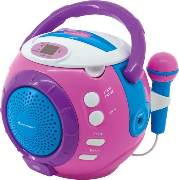 Kinder CD-Spieler mit Sing-a-long Funktion