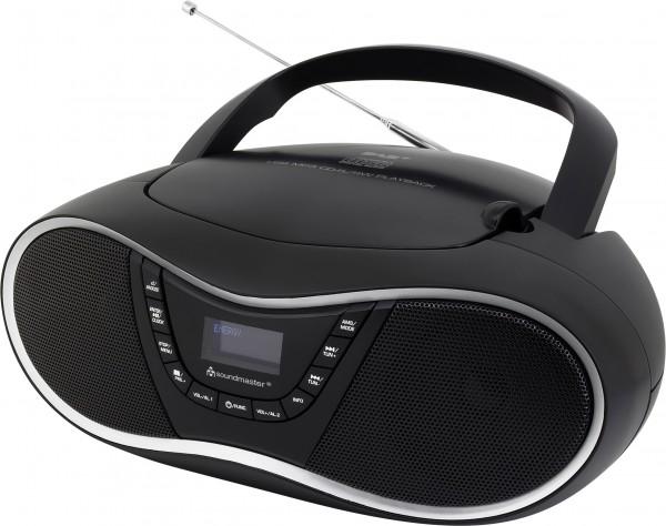 DAB+ Boombox mit CD/MP3 und USB