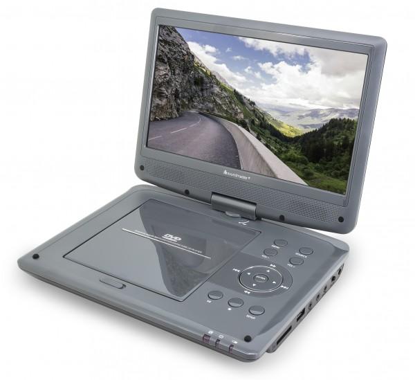 """Tragbarer DVD-Player mit DVB-T2 HD-Tuner und 10,1""""/26 cm TFT Bildschirm"""