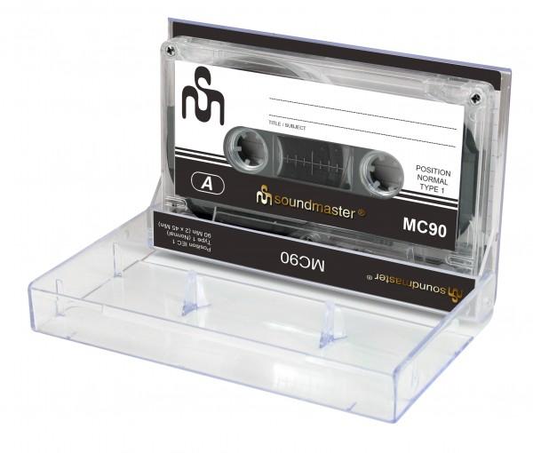 soundmaster - IEC1 Leerkassette im 5er Pack