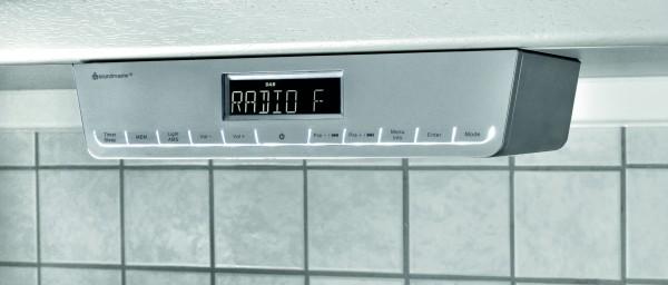 Küchenunterbauradio mit DAB und UKW