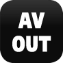 ohne AV-Out Audio Video Ausgang