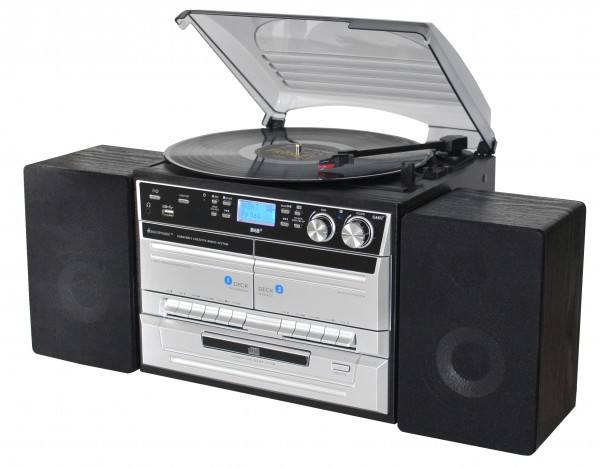 Stereo-Hifi-Musikcenter/DAB+ Radio und Encoding