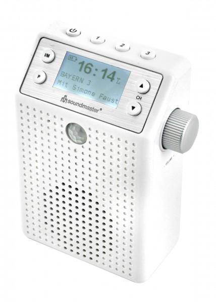 DAB+/UKW Steckdosenradio mit Bewegungsmelder und eingebautem Akku