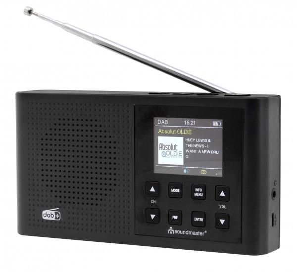 DAB+/UKW Digitalradio mit Farbdisplay und eingebautem Li-Io-Akku