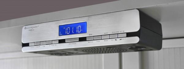 Küchen-Funkuhrenradio zum Unterbau oder als Standgerät verwendbar