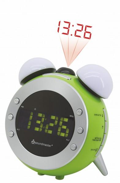 UKW Uhrenradio mit Projektion und dimmbaren Nacht-, Aufwachlicht