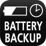 Stützbatterie für Uhrzeit