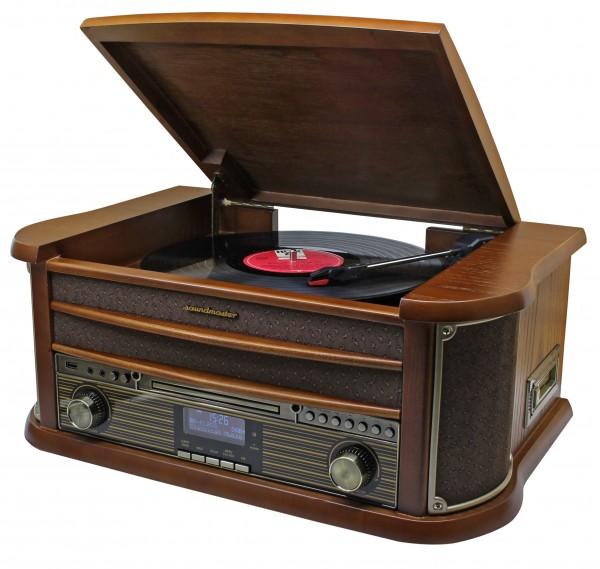 Nostalgie Musikcenter mit Bluetooth®