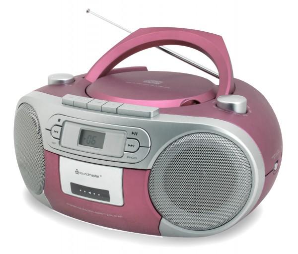 Radio-Kassettenspieler mit CD