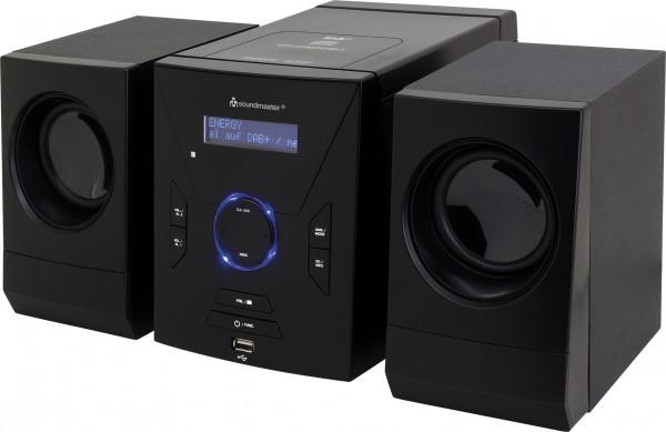Design-Stereo-Anlage mit CD, DAB+/UKW-PLL Radio