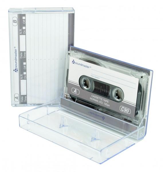 IEC1 Leerkassette im Doppelpack