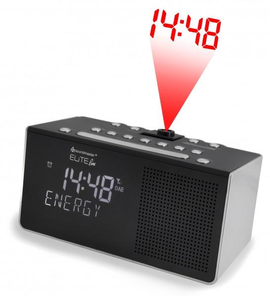 DAB+/UKW-RDS Uhrenradio mit Projektion