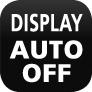 Auto-Off-Display - automatische Abschaltfunktion des Displays