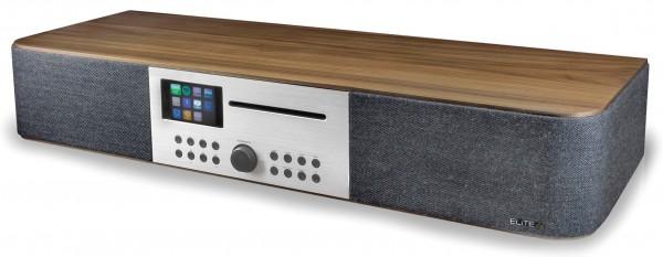 Stereo Musikcenter mit Internet/DAB+/UKW-Radio, Netzwerk-Player, CD, Multi-Room und App-Steuerung