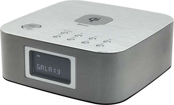 Stereo DAB+/UKW Uhrenradio mit Bluetooth®