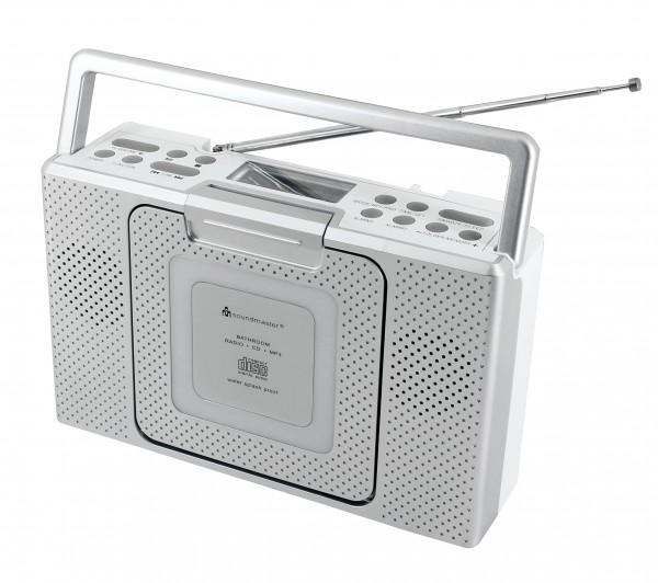 Spritzwassergeschütztes Badezimmer CD/MP3 Radio
