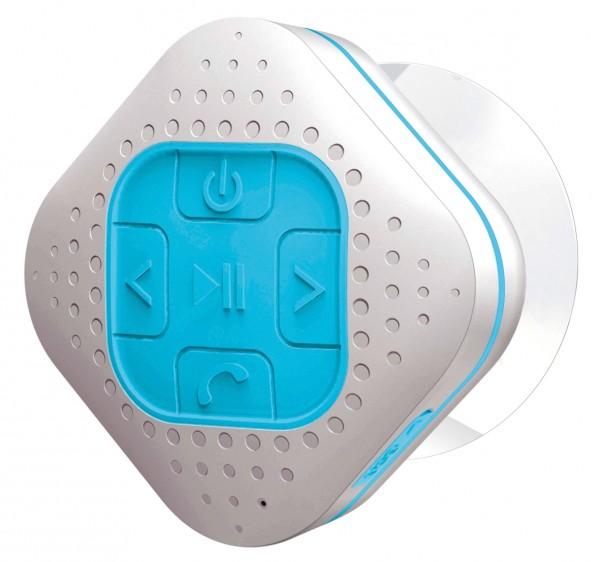 Spritzwassergeschützter Bluetooth® Speaker mit eingebauten Akku