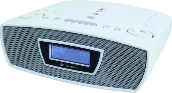 DAB+/UKW Digitaluhrenradio mit CD/MP3, Hörbuchfunktion und USB