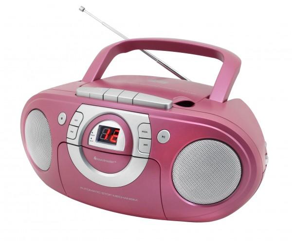 Radio-Kassettenspieler mit CD-Spieler