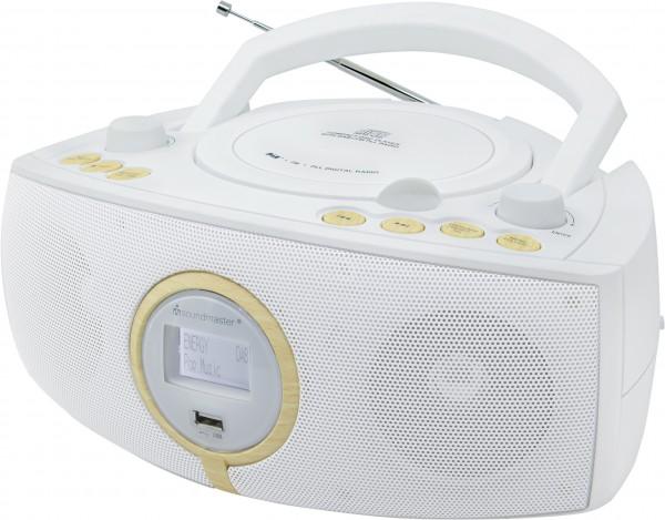Stereo DAB+/UKW-PLL Radio mit CD/MP3 Spieler