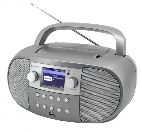 Internetradio Boombox mit DAB/UKW/CD/USB und Bluetooth®