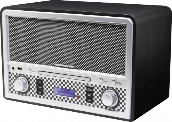CD/MP3 Nostalgie DAB+/UKW Digitalradio mit USB und Bluetooth®