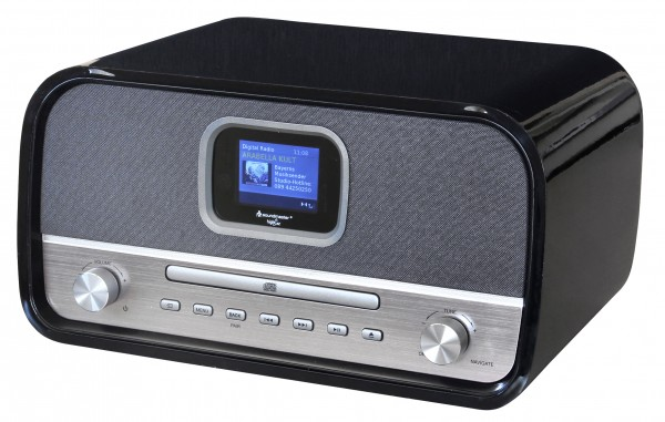 Stereo Musikcenter mit DAB+/UKW, CD/MP3, USB, Bluetooth® und Farbdisplay