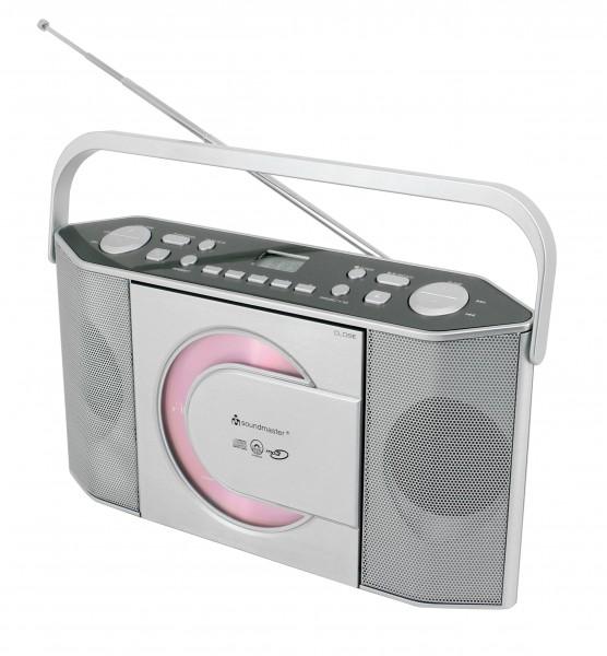 Tragbarer CD/MP3 Stereo UKW-PLL Radio