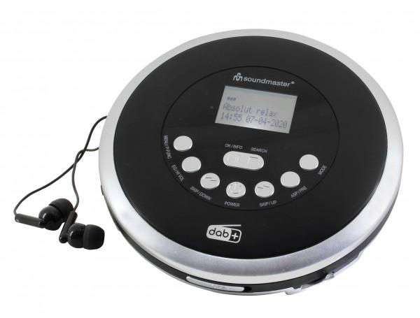 CD/MP3-Spieler mit DAB+/UKW Radio, Akkulade- und Hörbuch Funktion