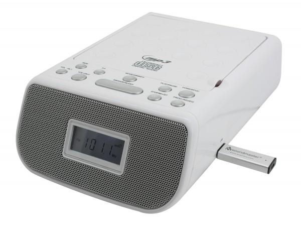 CD/MP3 Stereo Uhrenradio mit USB
