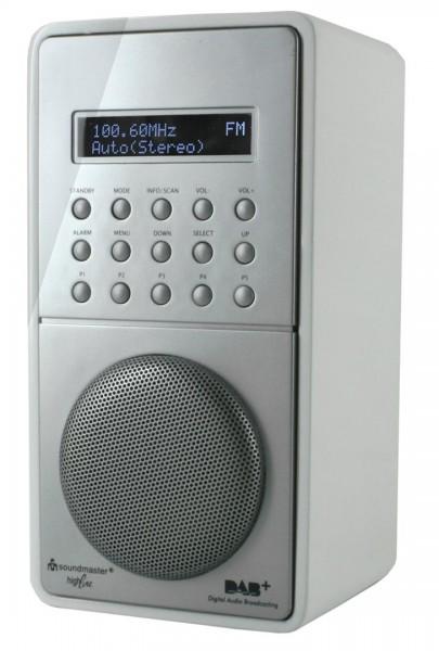 DAB+/UKW-RDS Radio mit Festsenderspeicher und Akku