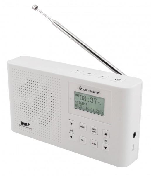 DAB+/UKW Digitalradio mit eingebautem Li-Io-Akku