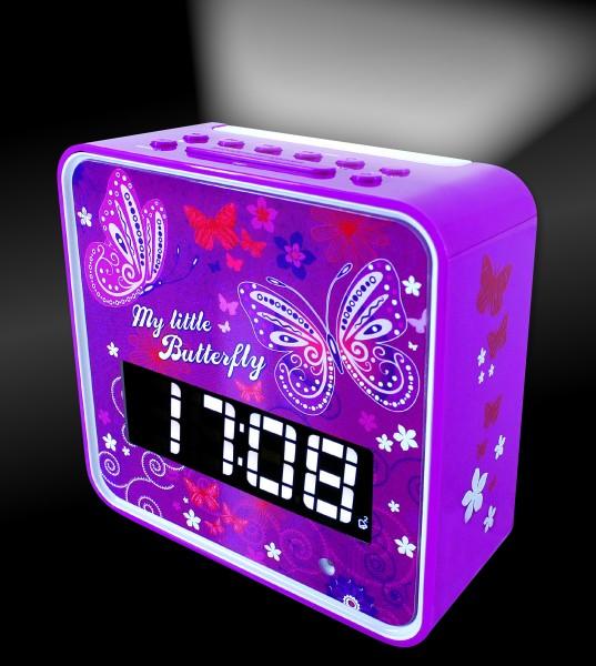 UKW Uhrenradio mit Nachtlicht-Automatik